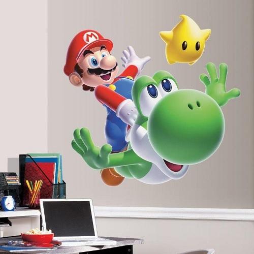 Super Mario muurstickers