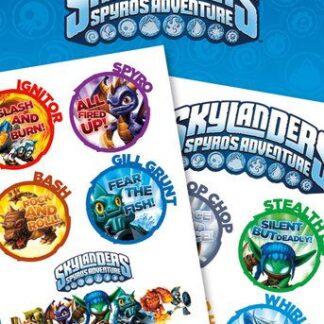 Skylanders Tattoo Pack