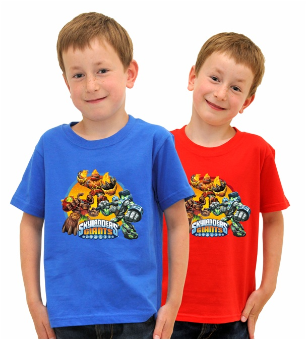 Skylanders Giants T-Shirts