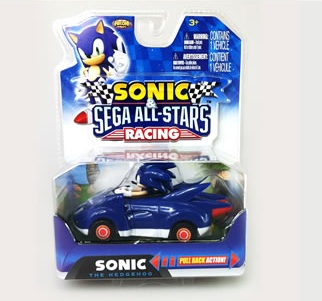 Sonic Pull Back Cars