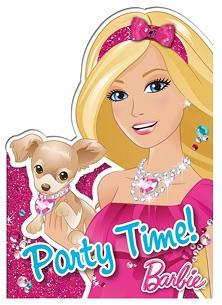 Barbie Uitnodigingskaarten