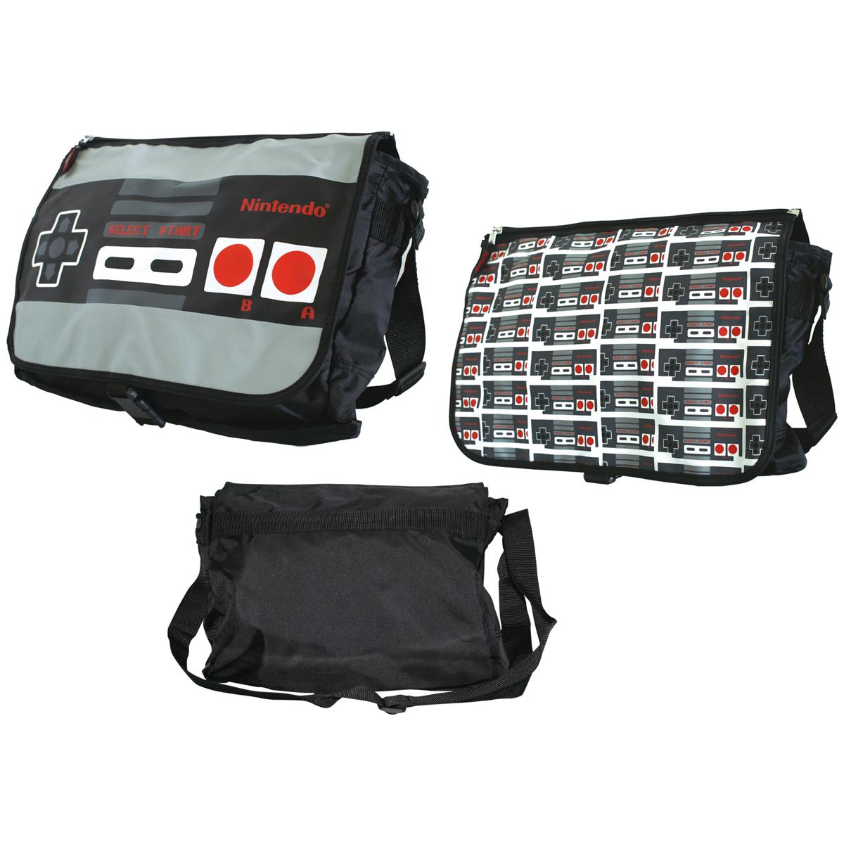 NES Controller Messenger Bag