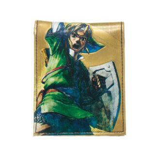 Zelda Golden Bifold Wallet