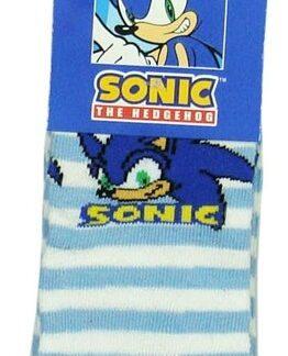 Sonic Sokken Lichtblauw Gestreept