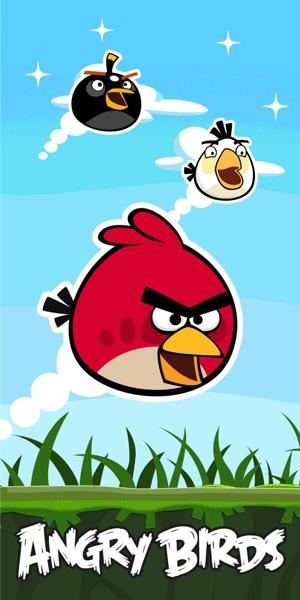 Angry Birds Badhanddoek