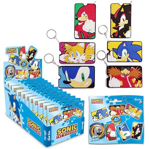 Sonic Tas labels