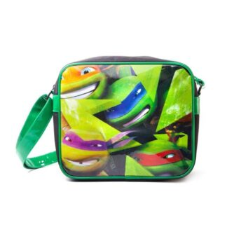 Turtles Messenger Bag Faces