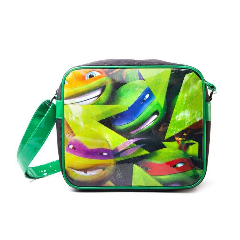 Turtles Messenger Bag Faces