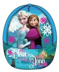 """Disney Frozen Caps """"Anna en Elsa"""" Blauw maat 52"""