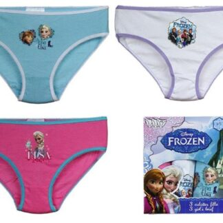 Disney Frozen Onderbroekjesset 3 stuks (6 tot 8 Jaar)