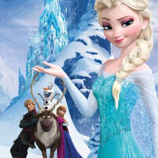Frozen Mountain Mini Poster 50 x 40cm