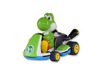 Yoshi Kart 8 Kart Pull Back 6cm