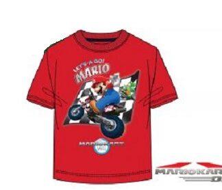"""Super Mario Let's a Go T-Shirt Rood """"maat 140"""""""
