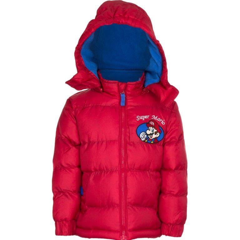 "Super Mario Winterjas ""rood"" 3 Jr."