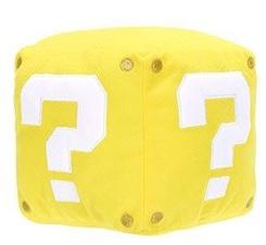 Nintendo Question Block Pluche met geluid effect! 13cm