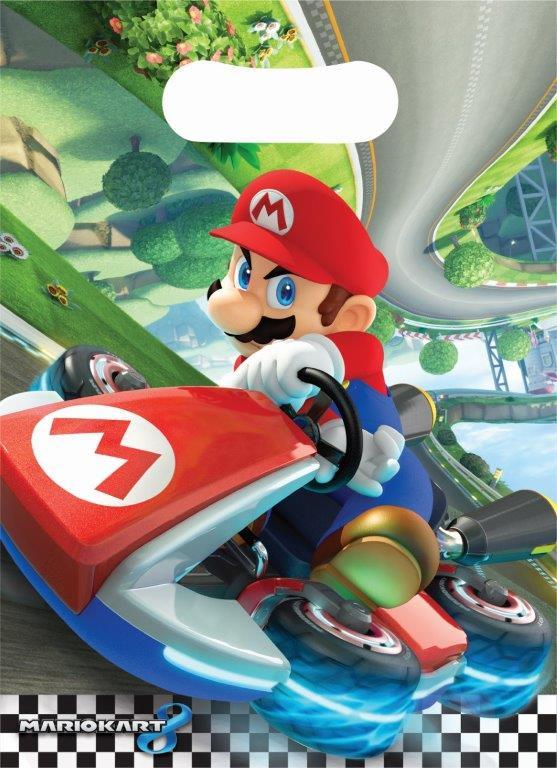 Super Mario Loot Bag 8 stuks per verpakking