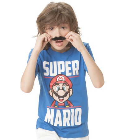 Super Mario T-Shirts Kids