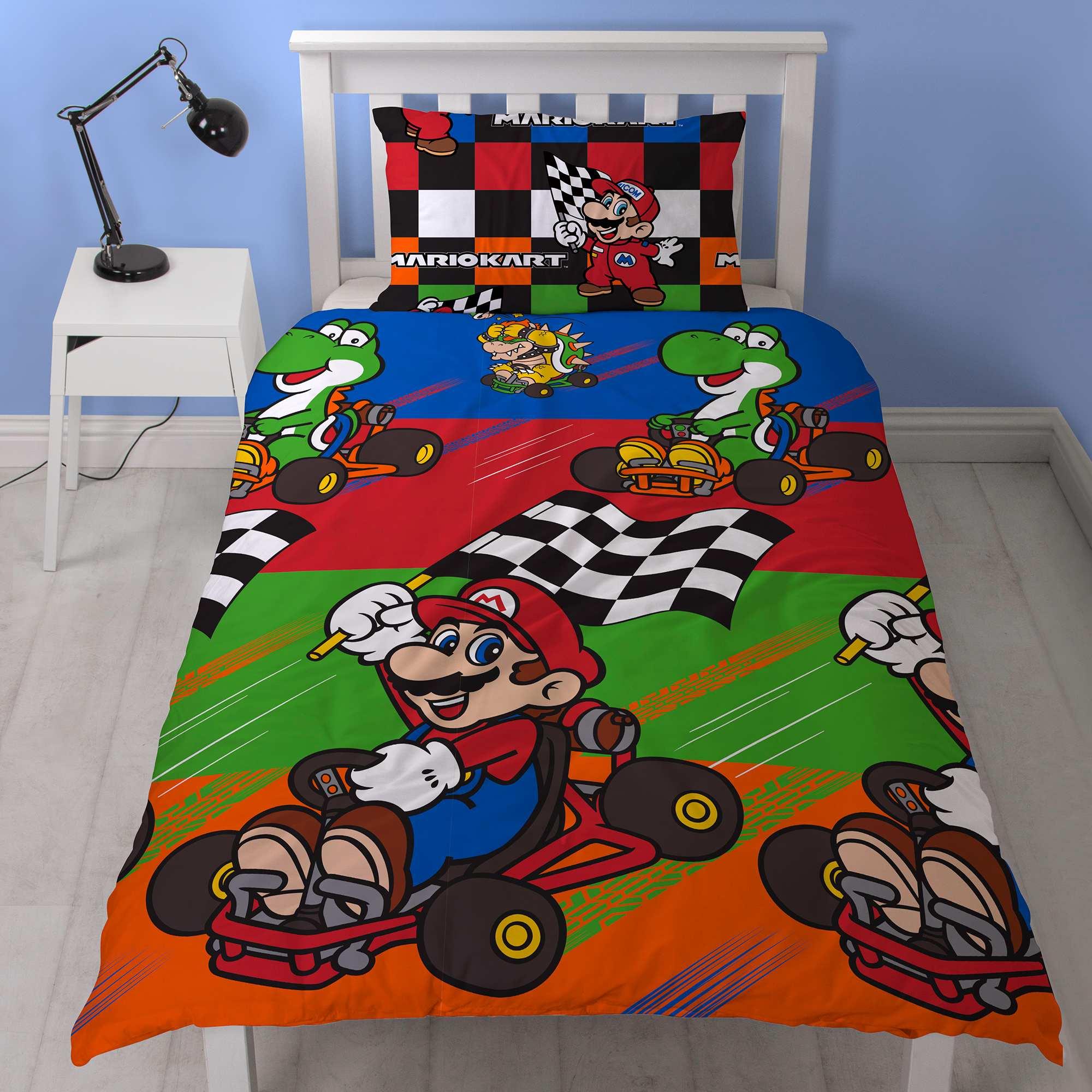 Nintendo - Super Mario Bros licentie dekbedovertrekken