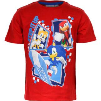 Sonic T- shirt Rood