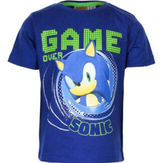 Sonic shirt blauw