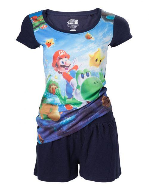 Super Mario Pyjama's maten XS t/m XXL