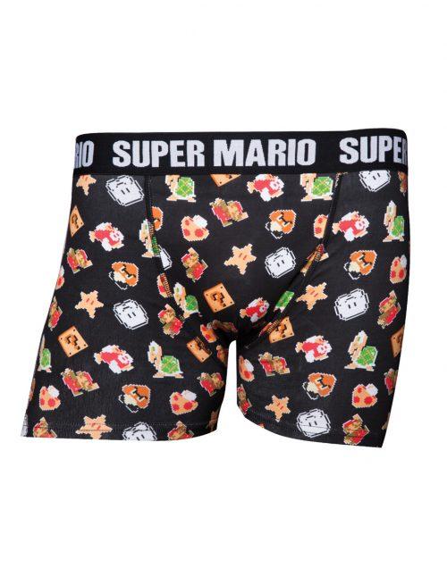 Nintendo Super Mario Heren Boxershort Ondergoed