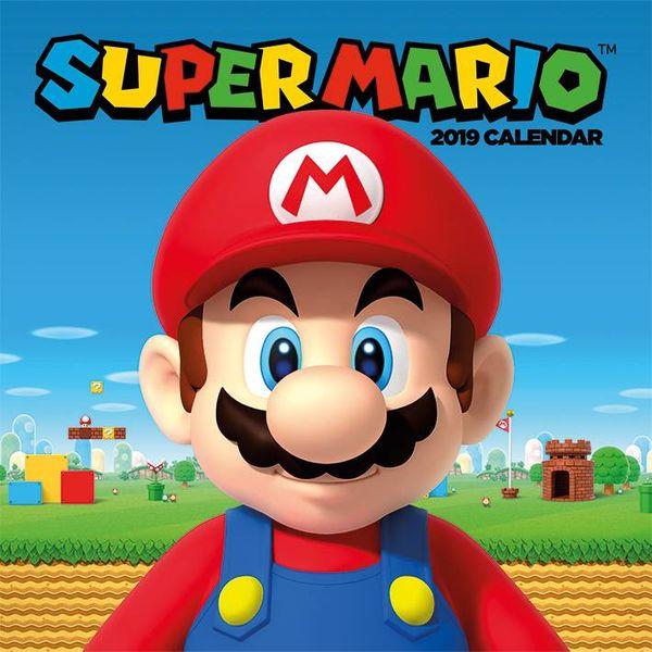 c1a6bd13565 Nintendo - Super Mario and friends Kalender 2019
