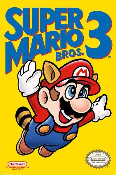 Nintendo Super Mario Posters