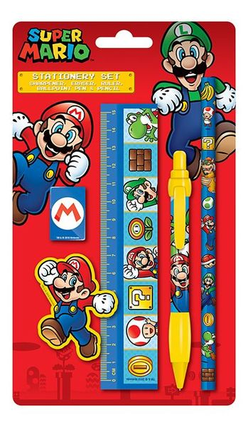 Super Mario Schrijfset