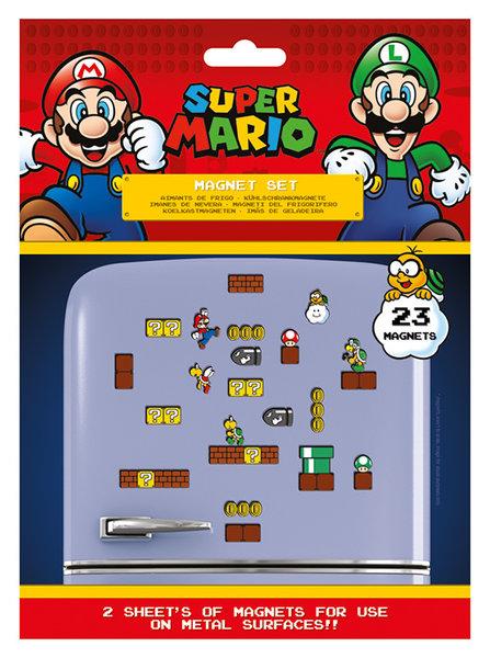 Super Mario Magneet Set Nintendo
